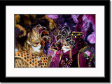 Two Colorful Masks