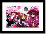 Three Colorful Ladies