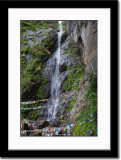Waterfall Near Taktsang