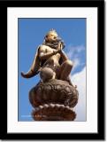 Statue at Durbar Square