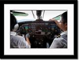 Cockpit of Buddha Air's Pratt & Whitney