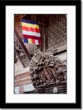 Flag Showing Buddhism
