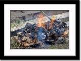 Burning of Dead Body