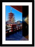 Pagoda at Sensouji Temple