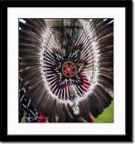 Feather Arrangement of Atabaskan Tribe