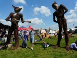 Wicker Sculptures Fresh From Glastonbury