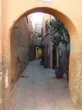 One of 3,000 Alleyways In The Medina