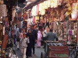 Deep In The Central Souqs