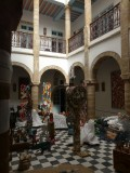 Art Exhibition At Another Nearby Riad