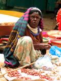 Old woman seller