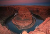 Dawn at Horseshoe Bend of Colorado River