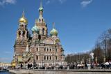 Church on Spilled Blood, St Petersburg