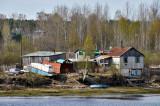 Dachas on Svir River