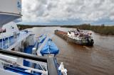 Traffic on the Kovzha River