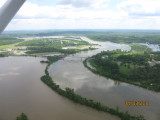 Cumberland River at Smithland - by Jerry Chumbler
