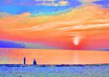 topaz sunset