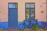 Bicycles in Bruge