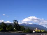 Po drodze do Andorry - widok na Canigou