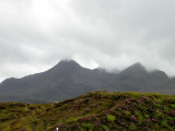 Finally the Cuillin is visible (just)