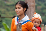 Young Thai Mother