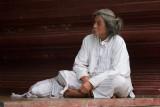 Hermit at Shwedagon Pagoda