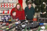 Christmas Trains - Ace Hardware store - Blackstone, VA