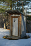 Luxury Outhouse