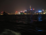 View of Central Hong Kong from the Star Ferry
