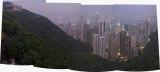 Hong Kong from Victoria Peak at twilight