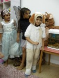 Preparing to stage a play with friends