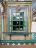 A masjid window