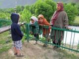 Darragh and three Kollum locals