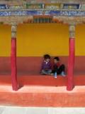 Rahil and Imran at Tikse