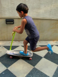 Sort of skateboarding