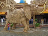 Kingdom of Dreams, an over-the-top tourist attraction outside of Delhi