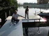 Fishing with Grandma in Three Lakes