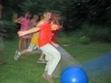 First Fox kickball game