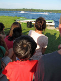Three Lakes waterskiing show