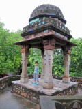 Humayan's Tomb: original color