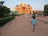 Yet another late afternoon trip to Humayan's Tomb