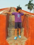 Jantar Mantar, an 18th c. observatory