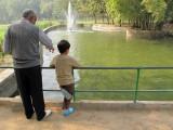 Feeding the fish with Nanu