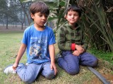 Hoping to find snakes with friend Imran at Lodhi Garden
