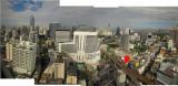 View of Bangkok from 28th floor of Landmark Hotel looking west 8 Dec 2011.jpg