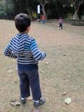 Football with Imran