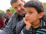 With Dad in Haus Khas Village
