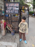 This Shop Is Open Every Day Without Fail (Delhi 2011)