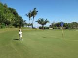 Golfing in Borneo