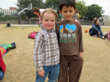 Pals Darragh and Rahil