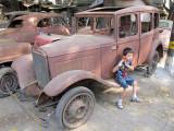 An old junkyard in Nizamuddin West